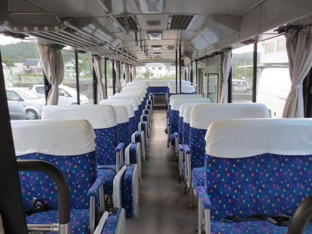 日野 日野 ブルーリボン 50人乗り 自動扉 大型バス エアサス