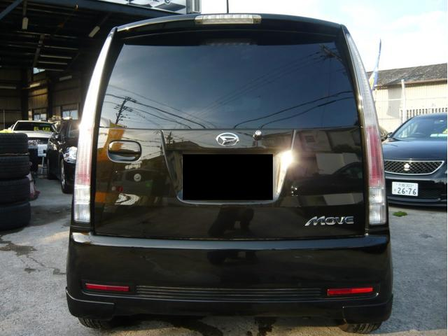 カスタムx 17AW 車高調 HDDナビ 黒革調シートカバー(4枚目)
