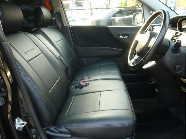 カスタムx 17AW 車高調 HDDナビ 黒革調シートカバー(13枚目)