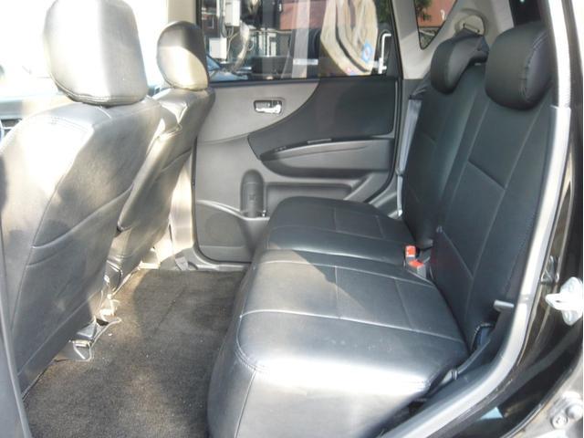 カスタムx 17AW 車高調 HDDナビ 黒革調シートカバー(14枚目)