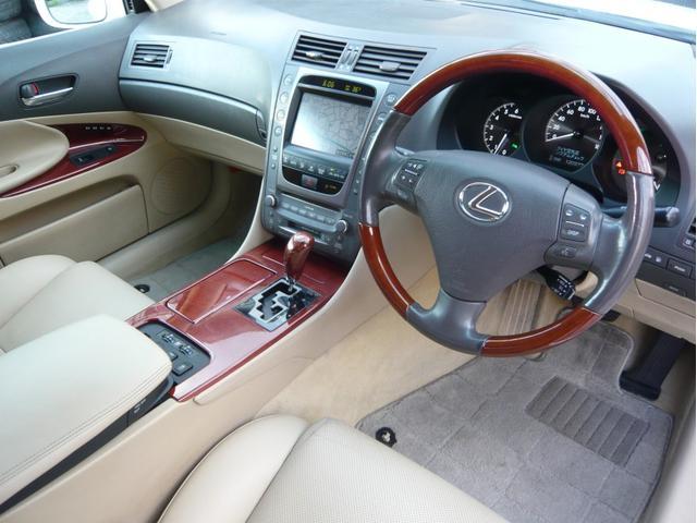 GS350 20AW 車高調 本革シート DVDプレイヤー(10枚目)