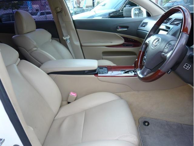 GS350 20AW 車高調 本革シート DVDプレイヤー(14枚目)