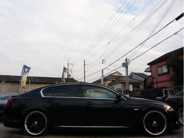 GS350 20AW 車高調 サンルーフ黒本革シート DVD(2枚目)