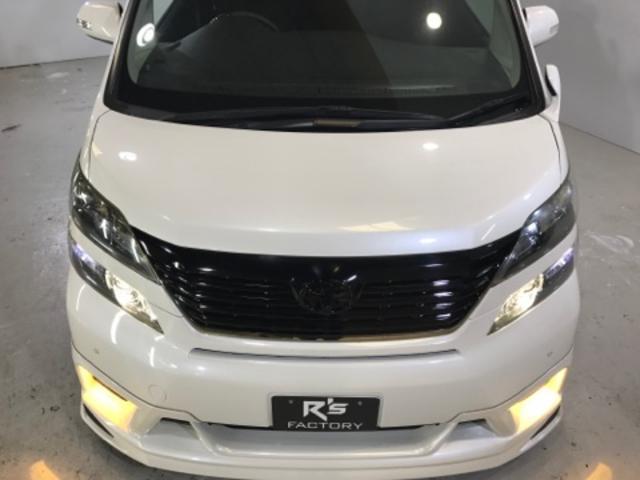 トヨタ ヴェルファイア 2.4Z プラチナ新品TEIN車高調新品WORK20アルミ