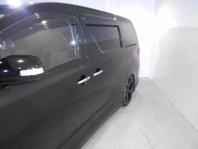 トヨタ アルファード 240S7人乗り両側PS新品車高調新品WORK20inAW