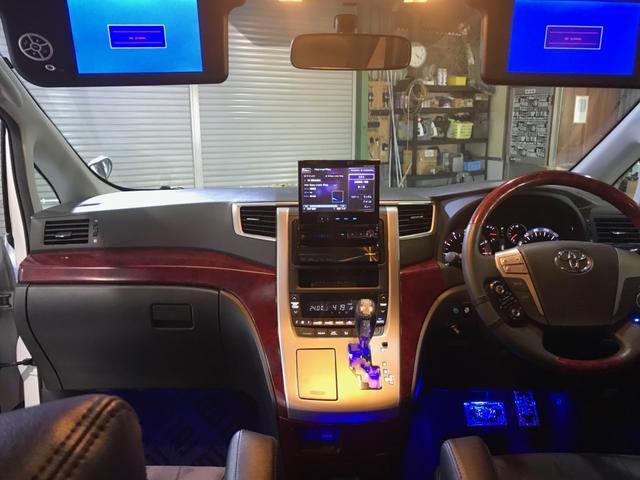 トヨタ ヴェルファイア 2.4Z トミーカイラSSR21AW車高調外マフラーサンルフ