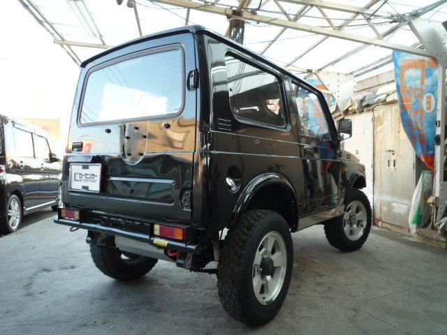 スズキ ジムニー 4WDターボ 5MT 公認ハイリフトカスタム レカロシート