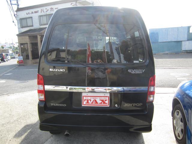 スズキ エブリイワゴン ジョイポップターボEXハイルーフ80th記念車
