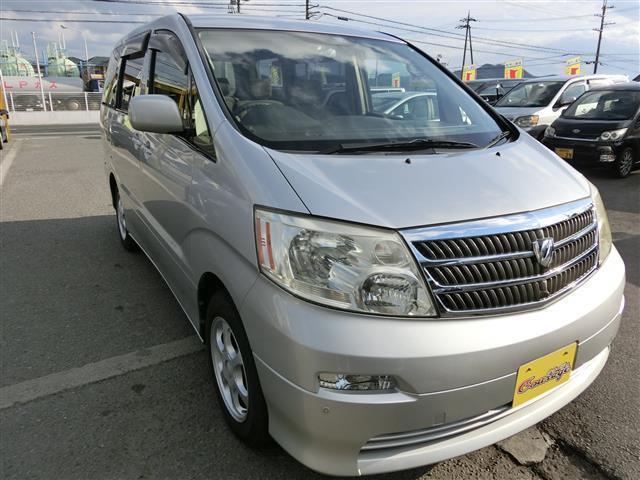 トヨタ アルファードG AX ナビ・バックカメラ・キーレス