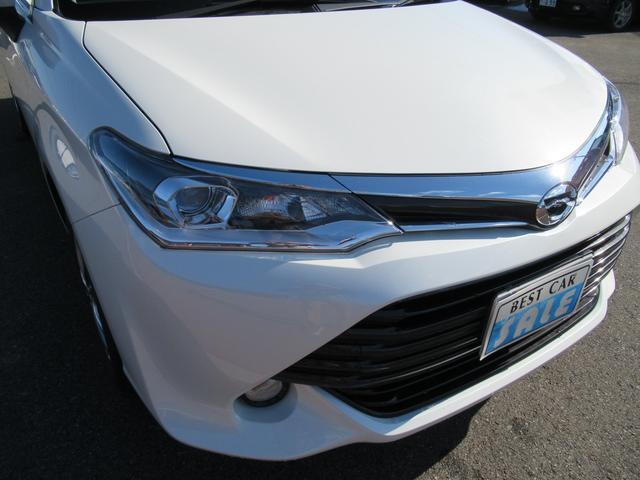 トヨタ カローラアクシオ 1.5G 4WD スタッドレス付 ナビ付き