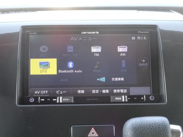 スズキ ワゴンRスティングレー X フルセグSDナビ DVD再生音楽録音 スマートキー
