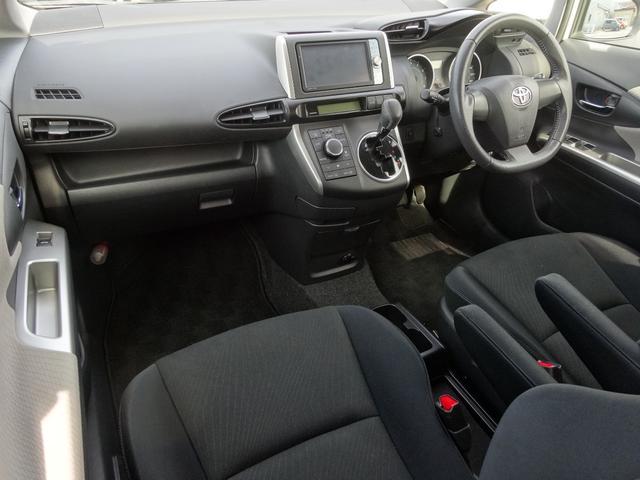 トヨタ ウィッシュ 1.8S フルセグHDDナビ パドルシフト 走行1万キロ台
