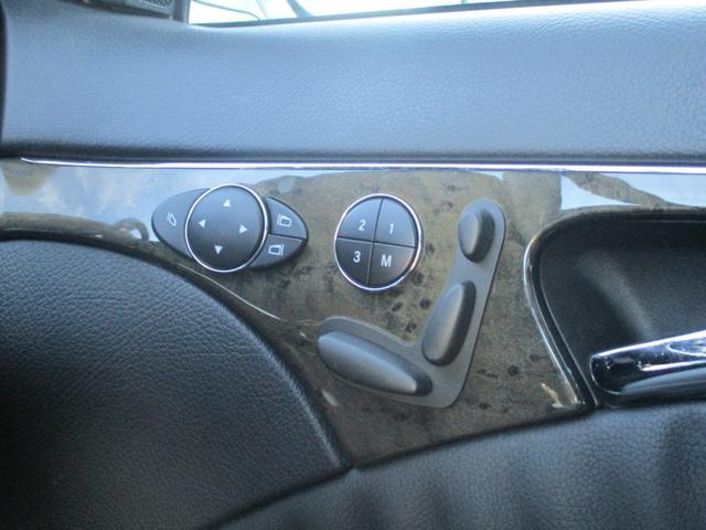運転席、助手席にはメモリー付パワーシート装備!!シートのポジションを記憶してくれます!!