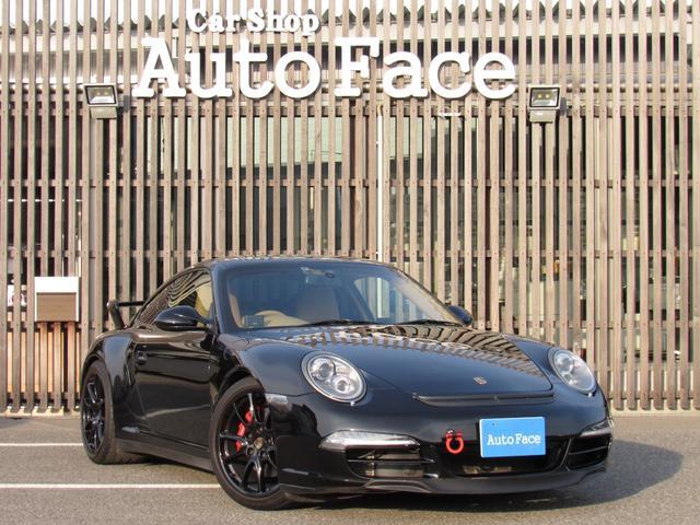 911カレラ4S 右ハンドル 後期 PDK スポーツクロノ H&Rローダウン パワークラフト可変マフラー 991フェイス 純正ナビTV Bカメラ コーティング施工済み(3枚目)