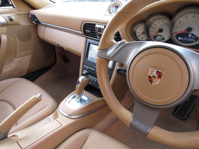 911カレラ4S 右ハンドル 後期 PDK スポーツクロノ H&Rローダウン パワークラフト可変マフラー 991フェイス 純正ナビTV Bカメラ コーティング施工済み(11枚目)