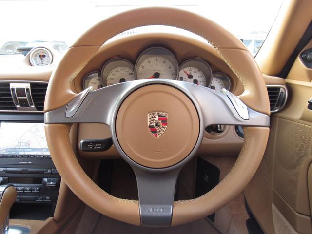 911カレラ4S 右ハンドル 後期 PDK スポーツクロノ H&Rローダウン パワークラフト可変マフラー 991フェイス 純正ナビTV Bカメラ コーティング施工済み(12枚目)