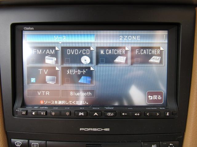 911カレラ4S 右ハンドル 後期 PDK スポーツクロノ H&Rローダウン パワークラフト可変マフラー 991フェイス 純正ナビTV Bカメラ コーティング施工済み(14枚目)