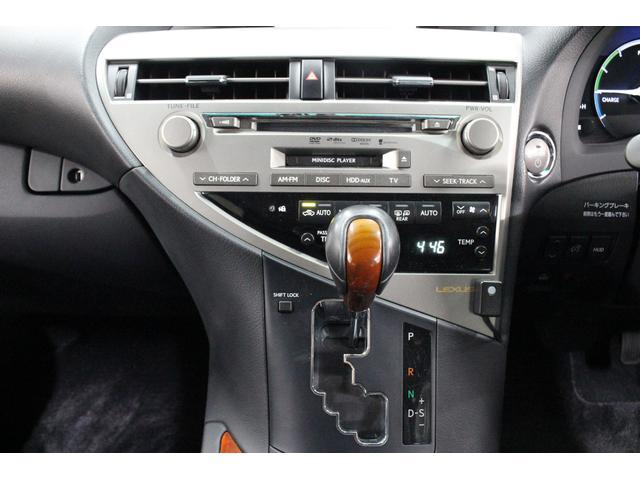 レクサス RX RX450hバージョンL HDDナビ 20インチAW 4WD