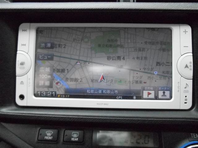 トヨタ アクア G メモリーナビ
