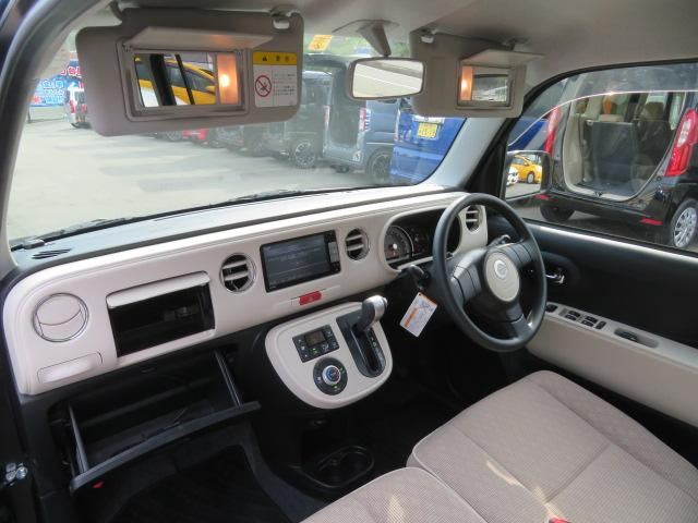 お客様に気に入ったお車を見つけて頂くために、車のドアの施錠は解放しております。使い心地や車内空間など使い心地など実際に車に乗り込みお選びください。