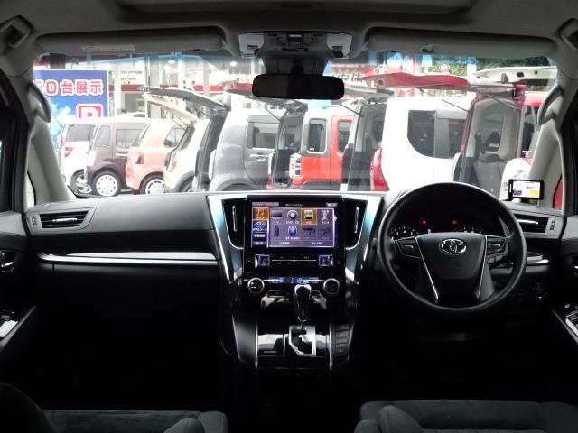 2.5Z Aエディション アルパイン11型メモリービッグナビゲーション フルセグ CD録音 Bluetoothオーディオ バックモニター サンルーフ 追従式オートクルーズ トヨタセーフティセンス 両側電動ドア ETC(2枚目)