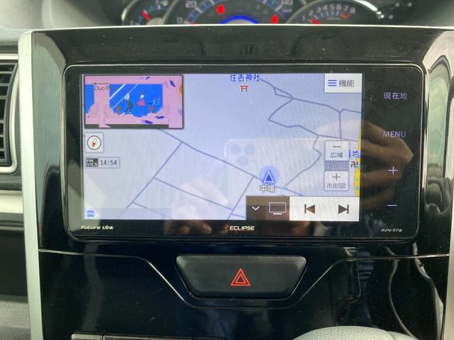 カスタムX SAIII 1オーナー 左側パワスラ SDナビ フルセグTV バックカメラ スマートキー2個 ドライブレコーダー LEDヘッドライト フォグライト シートヒーター 純正14インチAW ステアリングスイッチ(33枚目)
