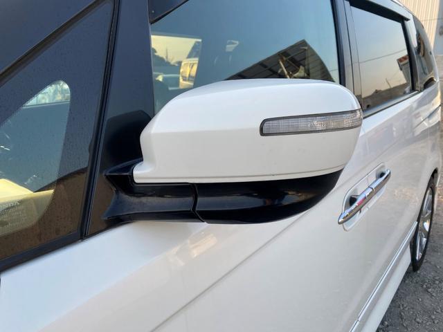 GエアロHDDナビスペシャルパッケージ 両側パワスラ HDDナビ フルセグTV バックカメラ リアモニター スマートキー ステアリングスイッチ ETC HIDライト フォグライト 社外18インチAW コンビハンドル レーダー探知機(10枚目)