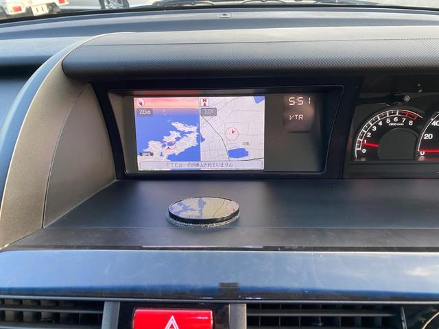 GエアロHDDナビスペシャルパッケージ 両側パワスラ HDDナビ フルセグTV バックカメラ リアモニター スマートキー ステアリングスイッチ ETC HIDライト フォグライト 社外18インチAW コンビハンドル レーダー探知機(34枚目)