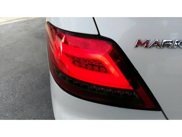 トヨタ マークX 250G Lパッケージ 純正ナビ 社外19AW 車高調