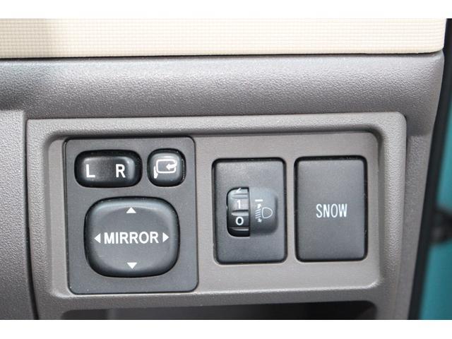 ◆ミラー格納や鏡面の角度調整ができます。ヘッドライトの光軸調整機能付