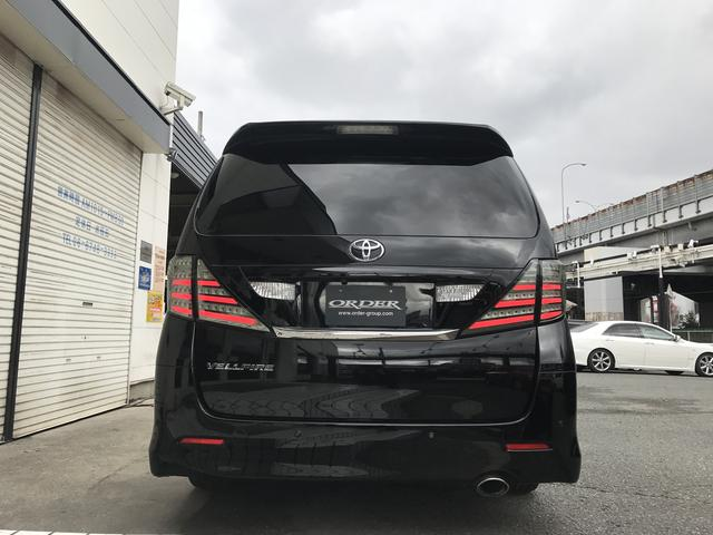 トヨタ ヴェルファイア 2.4Z プラチナムセレクション両側電動スラ車高調20AW
