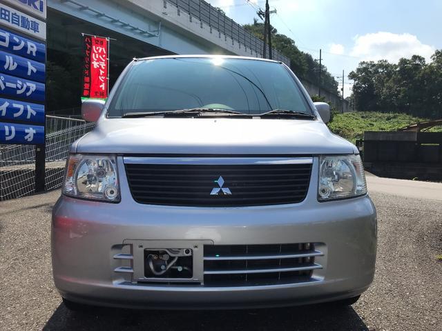 三菱 eKワゴン M 衝突安全ボディ フルフラット キーレス パワステ CD