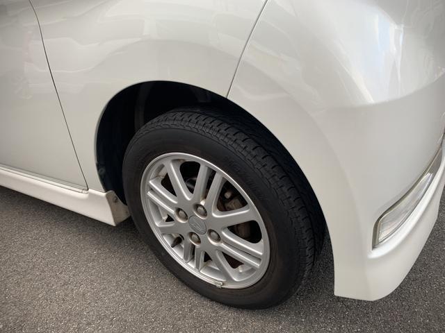 タイヤの溝もまだありますが、新品タイヤも取り扱っておりますのでご相談に応じます。