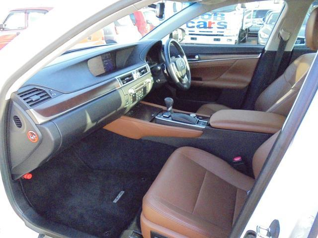 レクサス GS GS250 後席パッケージ 本革パワーシート