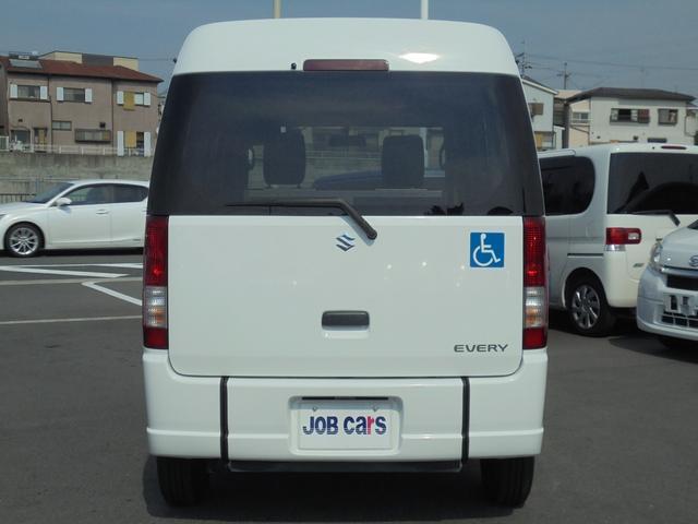 車いす移動車 補助席付 電動固定 社外メモリーナビ(7枚目)