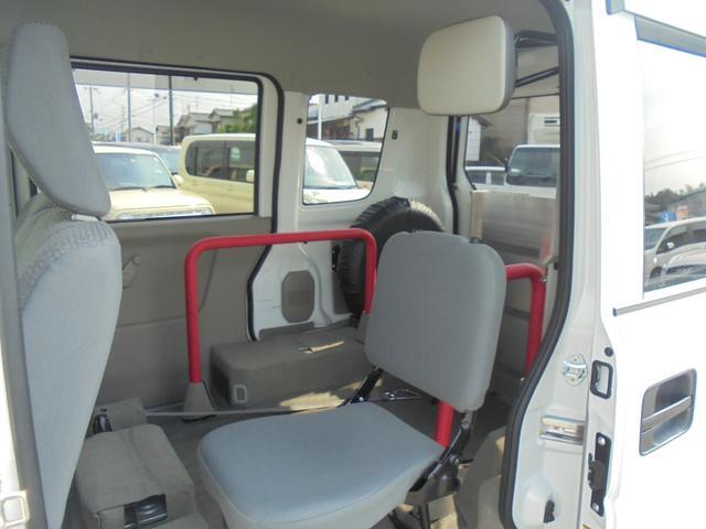 車いす移動車 補助席付 電動固定 社外メモリーナビ(15枚目)