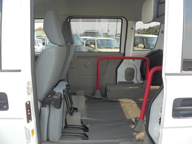 車いす移動車 補助席付 電動固定 社外メモリーナビ(16枚目)