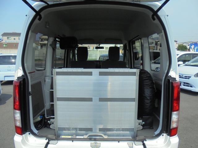 車いす移動車 補助席付 電動固定 社外メモリーナビ(19枚目)