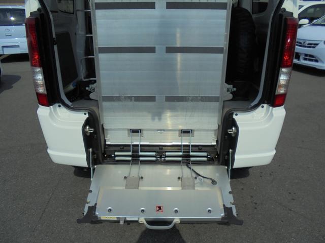 車いす移動車 補助席付 電動固定 社外メモリーナビ(20枚目)