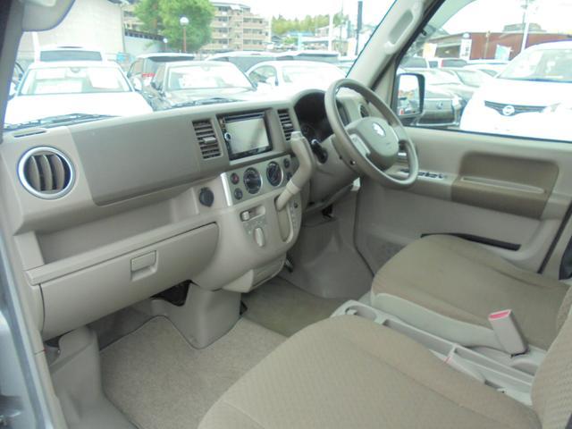 車いす移動車 福祉車両 ABS 社外ナビ 両側スライドドア(7枚目)