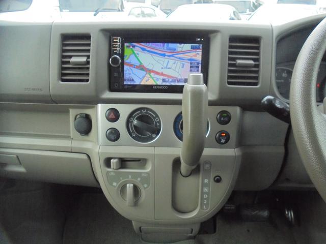 車いす移動車 福祉車両 ABS 社外ナビ 両側スライドドア(10枚目)