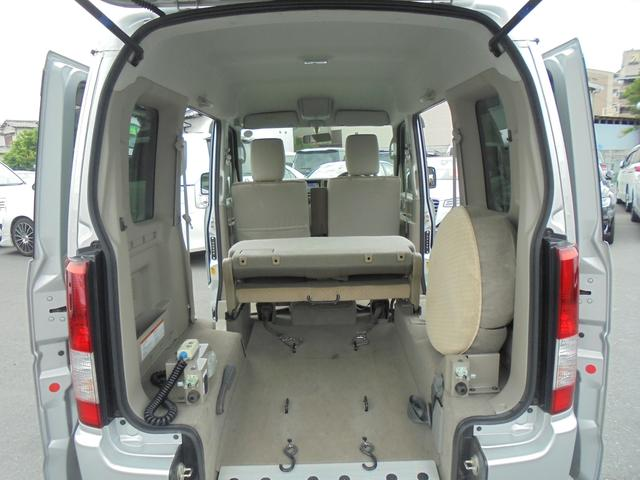 車いす移動車 福祉車両 ABS 社外ナビ 両側スライドドア(15枚目)