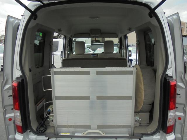 車いす移動車 福祉車両 ABS 社外ナビ 両側スライドドア(20枚目)