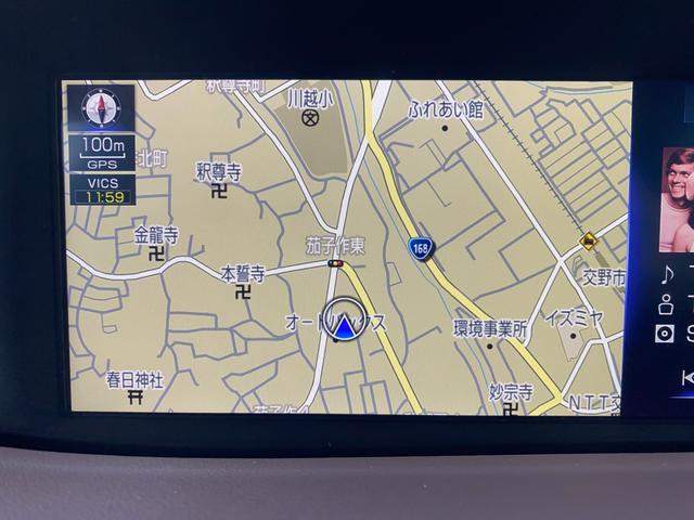 LS500h Iパッケージ 純正ナビ 純正アルミ LEDヘッドライト ETC ドラレコ ソナー 全周囲カメラ 記録簿 クルコン オートハイビーム エアサス シートエアコン 本革シート レーンアシスト(13枚目)