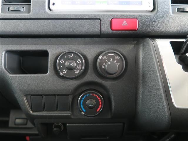 【空調】シンプルで使いやすいマニュアルエアコンです。操作が難しいのは使いにくいですからね。