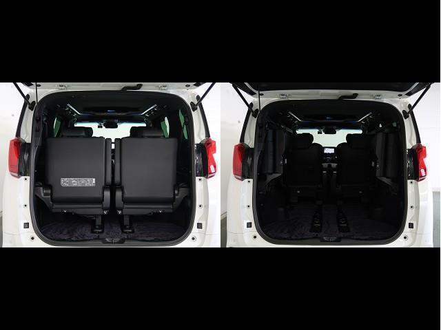 エグゼクティブラウンジS 革シート サンルーフ 4WD フルセグ メモリーナビ DVD再生 後席モニター バックカメラ 衝突被害軽減システム ETC 前後ドラレコ 両側電動スライド LEDヘッドランプ 乗車定員7人 3列シート(16枚目)