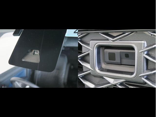 カスタムG-T スマートアシスト 衝突被害軽減ブレーキ ドライブレコーダー 9インチSDカーナビ 舵角センサー付きバックカメラ ETC車載器 両側電動パワースライドドア(2枚目)