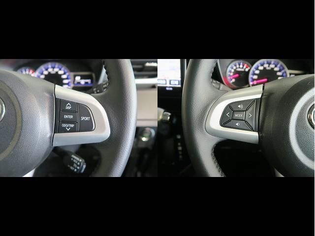 カスタムG-T スマートアシスト 衝突被害軽減ブレーキ ドライブレコーダー 9インチSDカーナビ 舵角センサー付きバックカメラ ETC車載器 両側電動パワースライドドア(10枚目)