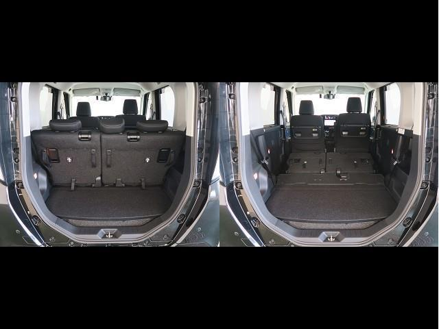 カスタムG-T スマートアシスト 衝突被害軽減ブレーキ ドライブレコーダー 9インチSDカーナビ 舵角センサー付きバックカメラ ETC車載器 両側電動パワースライドドア(16枚目)