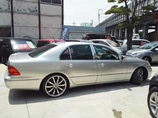 トヨタ セルシオ B仕様 eRバージョン アルミ 本革マルチ サンルーフ